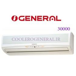 کولر گازی اجنرال 30000 سرد و گرم مدل ASGC30RWT