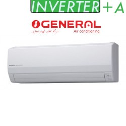 کولر گازی اجنرال اینورتر 18000 سرما گرما|کلاس انرژی A